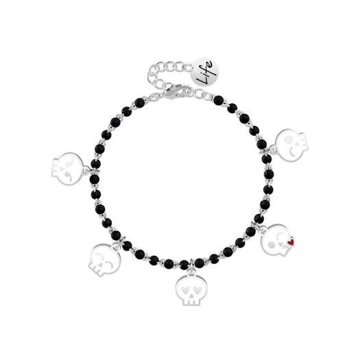 Bracciale Kidult in Acciaio Teschio  Emoticons - Symbols - 731878