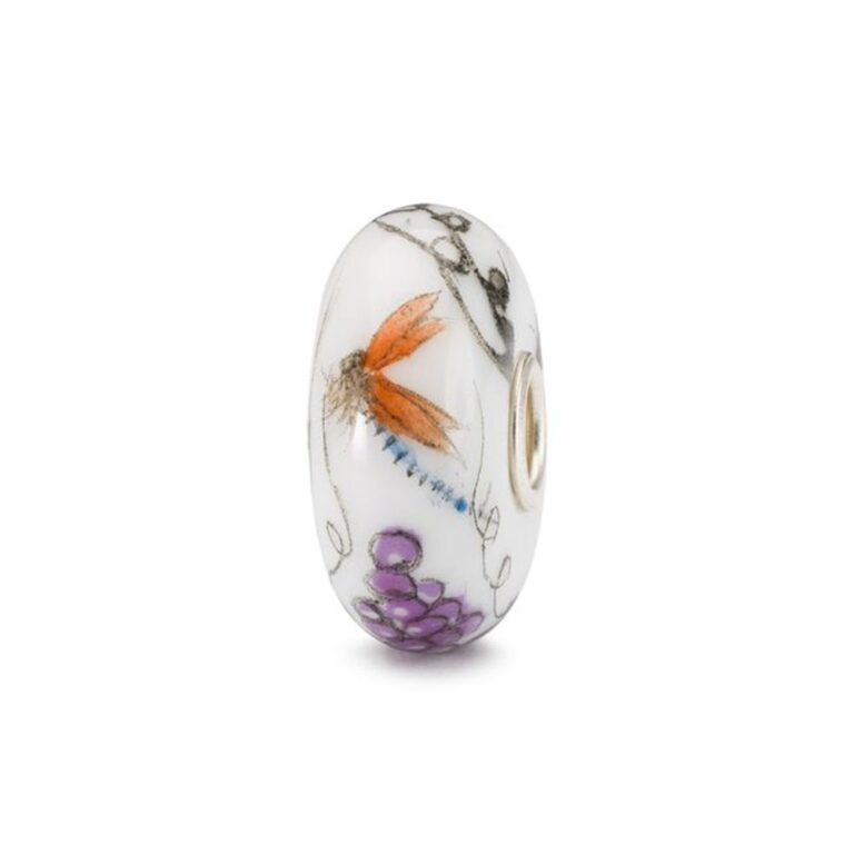 Beads Trollbeads in Argento e Porcellana - Uva - TCHBE-30011