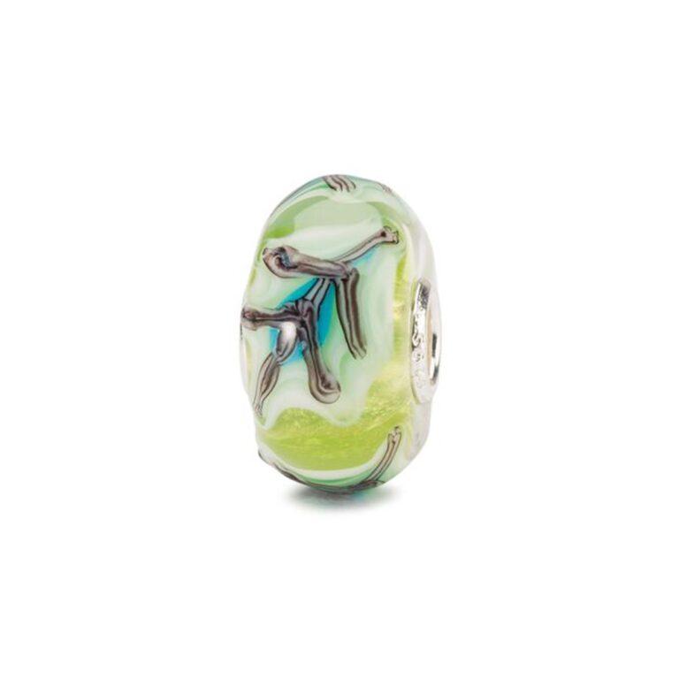 Beads Trollbeads in Argento e Vetro - Foglie Incantate - TGLBE-20129