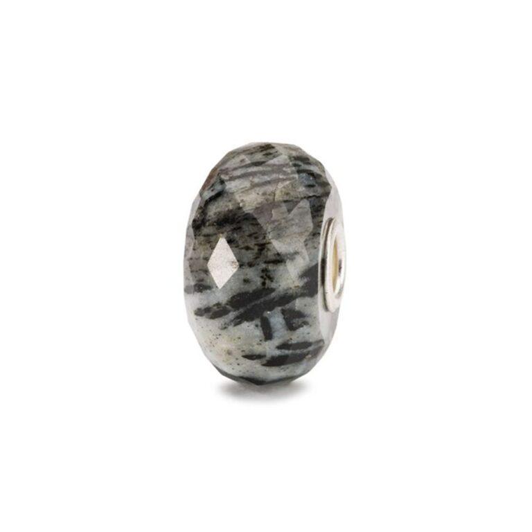 Beads Trollbeads in Argento e Pietra Dura - Orneblenda - TSTBE-20036