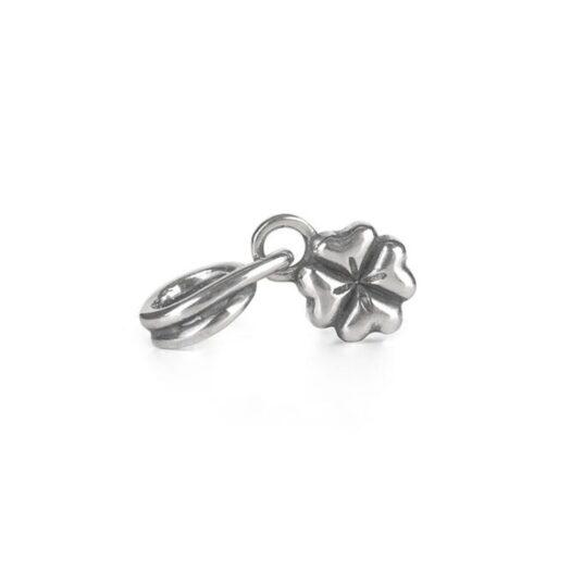 Beads Trollbeads in Argento - Pendente Quadrifoglio - TAGBE-00259