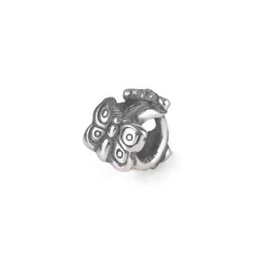 Beads Trollbeads in Argento - Farfalla in Volo - TAGBE-10242