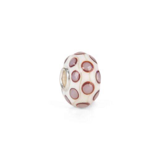 Beads Trollbeads in Argento e Vetro - Pois Felicità - TGLBE-20139