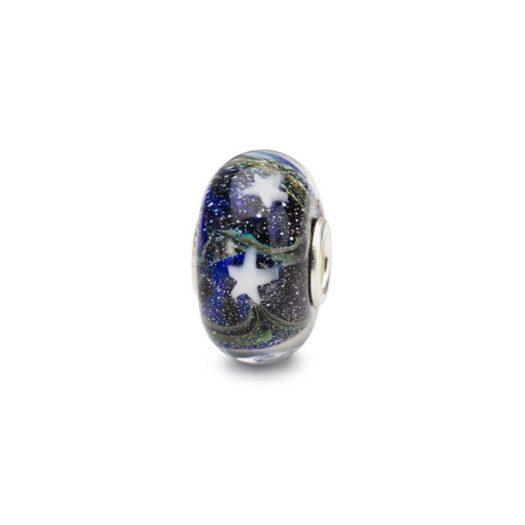 Beads Trollbeads in Argento e Vetro - Incanto di Stelle - TGLBE-20148