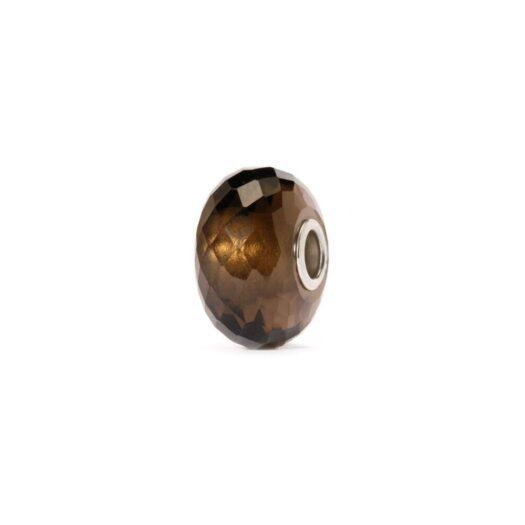 Beads Trollbeads in Argento e Quarzo - Quarzo Fumè - TSTBE-20010