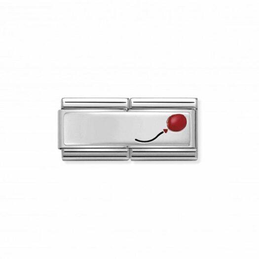 Charm Nomination in Acciaio e Argento - Composable - 330721/08