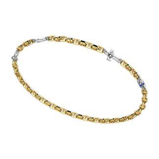 Bracciale Zancan in Oro Bicolore con Zaffiri - Eternity Gold - EB902GB-ZB