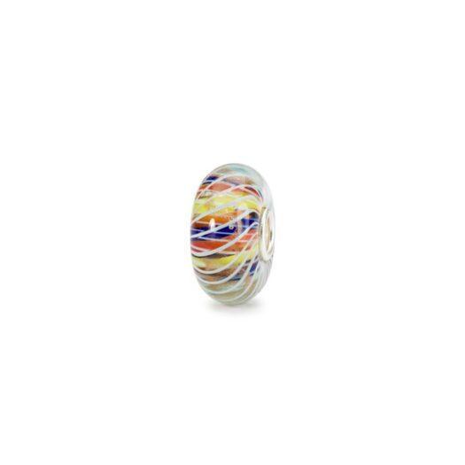 Beads Trollbeads in Argento e Vetro - Spirale Magica - TGLBE-20121