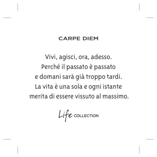 Bracciale Kidult in Acciaio Carpe Diem - Philosophy - 731805