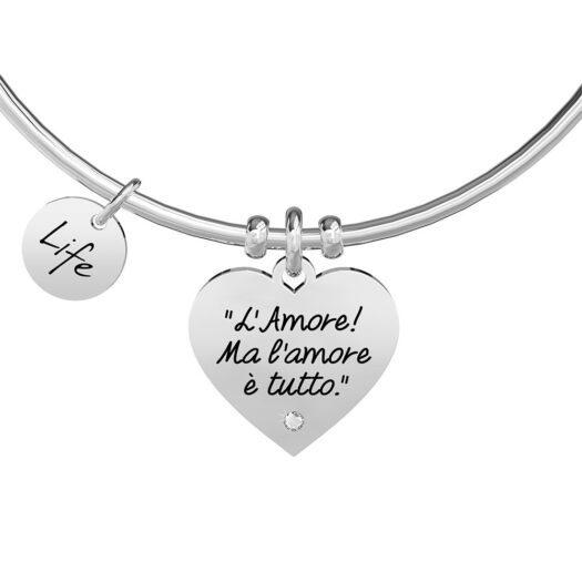 Bracciale Kidult in Acciaio L'Amore Dostoevskij - Love - 731890