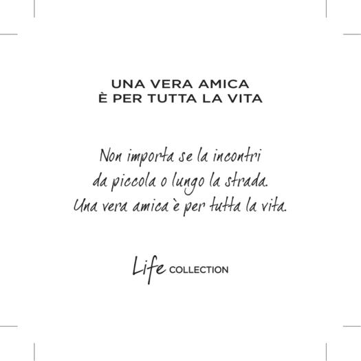 Collana Kidult in Acciaio  Vera Amica - Love - 751178