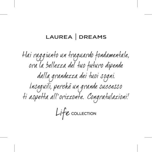 Collana Kidult in Acciaio Laurea  Dreams - Special Moments - 751181