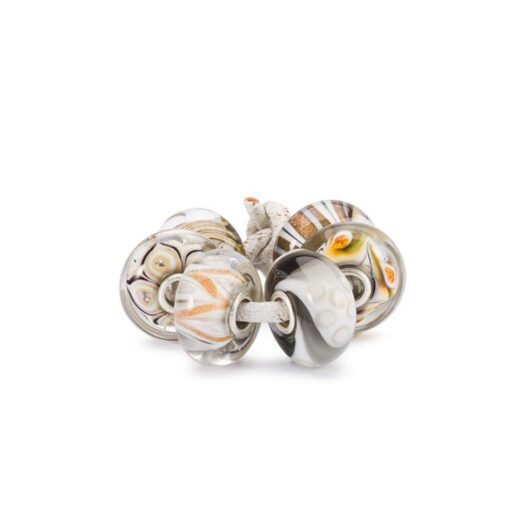 Set Beads Trollbeads in Argento e Vetro - Protezione - TGLBE-00200