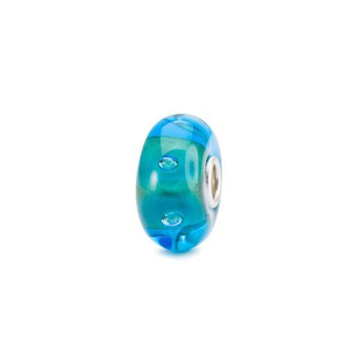 Beads Trollbeads in Argento e Vetro - Urano - TGLBE-10469
