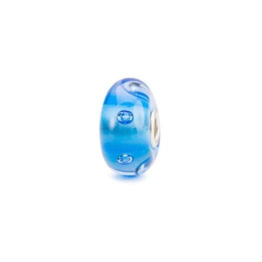 Beads Trollbeads in Argento e Vetro - Plutone - TGLBE-10471