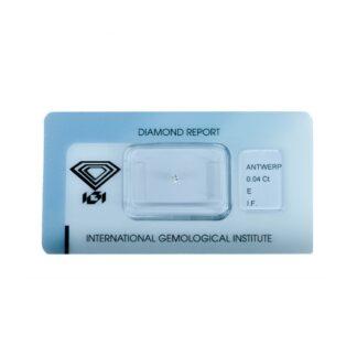 Diamante Blisterato Certificato IGI da 0.04 Carati - 279769118