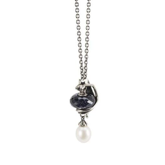 Beads Trollbeads in Argento e Vetro - Riflesso dell'Oceano - TGLBE-30054