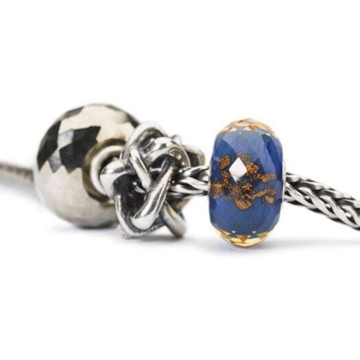 Beads Trollbeads in Argento - Intreccio di Stelle - TAGBE-20198