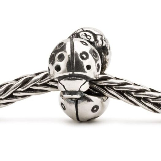 Beads Trollbeads in Argento - Coccinelle - TAGBE-20213