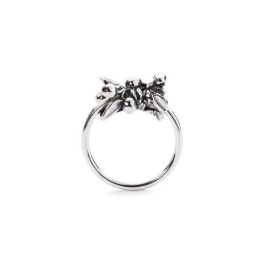 Anello Trollbeads in Argento - Bacche di Mirtillo - TAGRI-0027_0