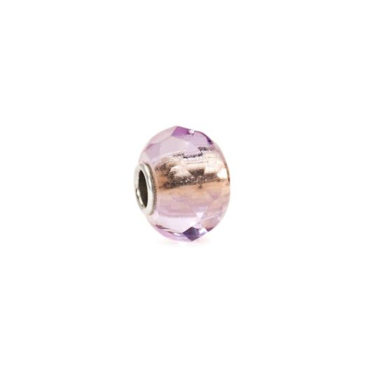 Beads Trollbeads in Argento e Vetro - Prisma Violetto - TGLBE-00153