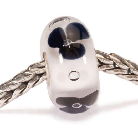 Beads Trollbeads in Argento e Vetro - Fiore di Moda - TGLBE-10071