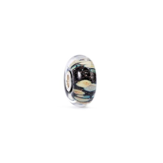Beads Trollbeads in Argento e Vetro - Ombre d'Autunno - TGLBE-10269