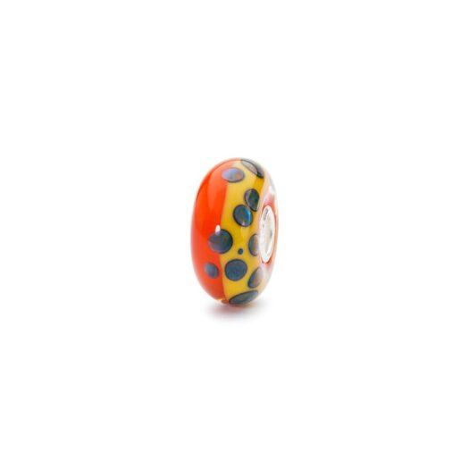 Beads Trollbeads in Argento e Vetro - Gocce di Memoria - TGLBE-10274