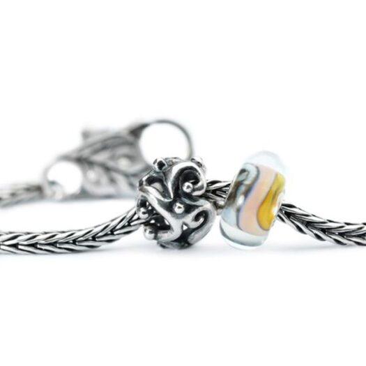 Beads Trollbeads in Argento e Vetro - Ricordi - TGLBE-10409