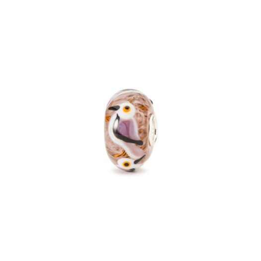 Beads Trollbeads in Argento e Vetro - Canto d'Amore - TGLBE-20101