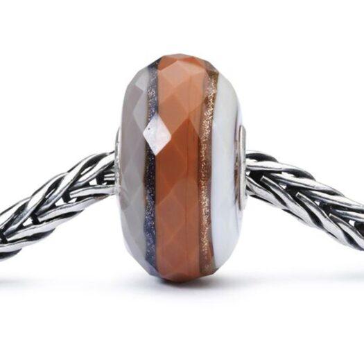 Beads Trollbeads in Argento e Vetro - Tramonto nella Foresta - TGLBE-30025