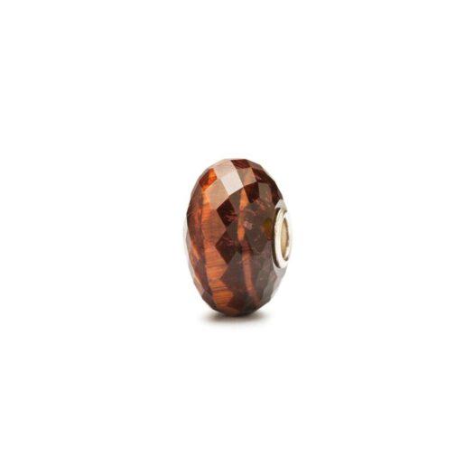 Beads Trollbeads in Argento - Occhio di Tigre Rosso - TSTBE-20009