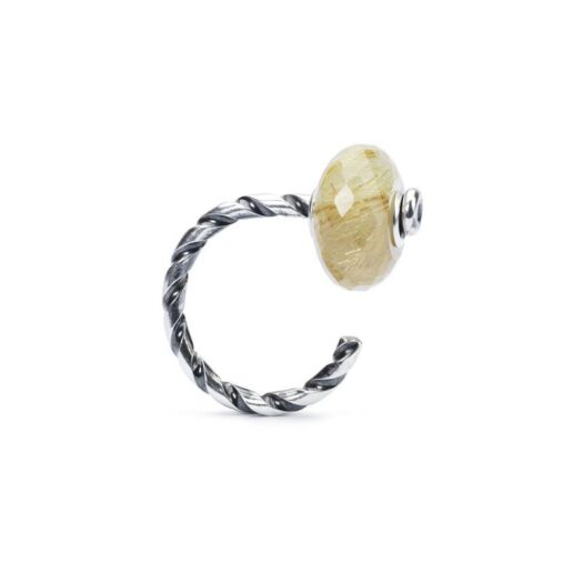 Beads Trollbeads in Argento - Quarzo Rutilato - TSTBE-30004
