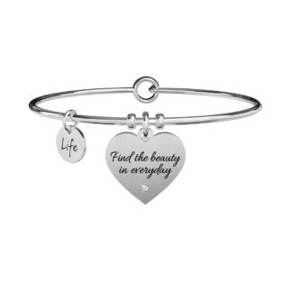 Bracciale Kidult in Acciaio Find The Beauty - Philosophy - 731899