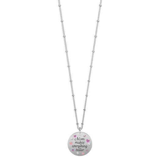 Collana Kidult in Acciaio Mom Makes Everything Better - Family - 751208