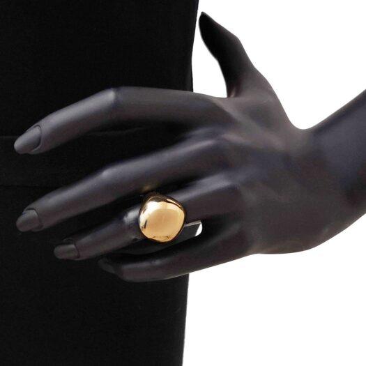 Anello Artlinea in Oro Giallo Cupola - Glam - AP047-LG