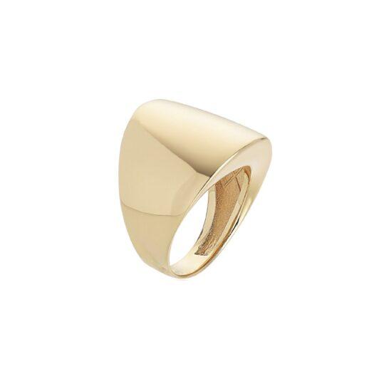 Anello Artlinea in Oro Giallo Fascia Larga - Glam - AP132-LG