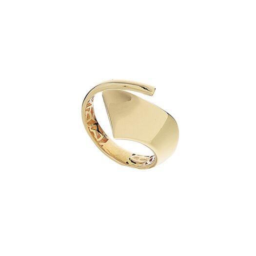 Anello Artlinea in Oro Giallo Fascia Squadrata - Glam - AP209-LG