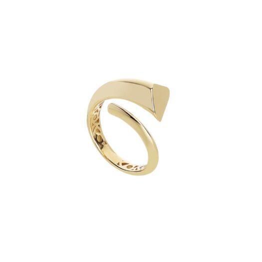 Anello Artlinea in Oro Giallo Fascia Alta - Glam - AP209-LG