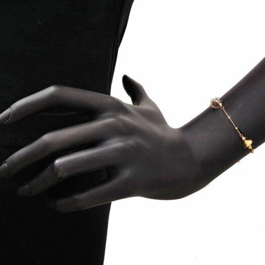 Bracciale Artlinea in Oro Giallo e Bianco - Glam - BED549-LN
