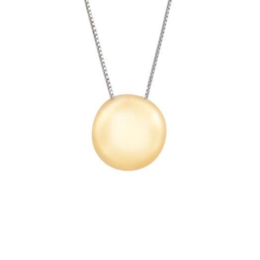 Collana Artlinea in Oro Giallo e Bianco Boule - Mini Parure - CEA2546-LN