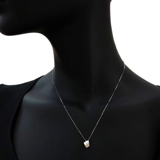Collana Artlinea in Oro Giallo e Bianco - Mini Parure - CEA2549-LN