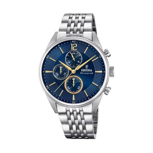 Orologio Cronografo Festina in Acciaio - Timeless Chronograph - F20285/3