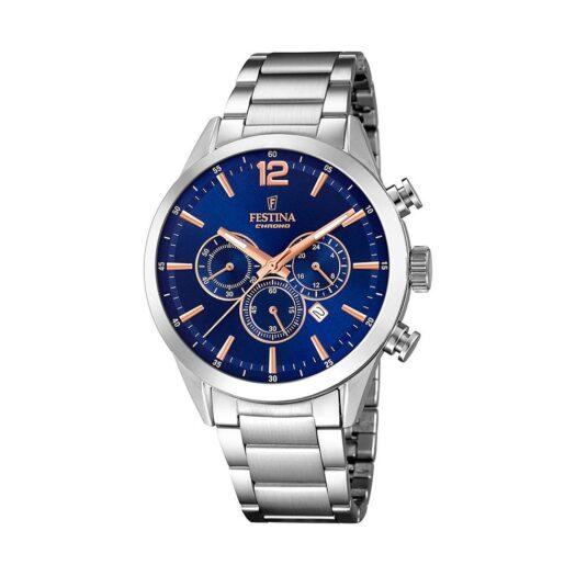 Orologio Cronografo Festina in Acciaio - Timeless Chronograph - F20343/9