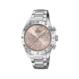 Orologio Cronografo Festina in Acciaio con Zircone - Boyfriend - F20397/3