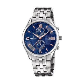 Orologio Cronografo Festina in Acciaio - Timeless Chronograph - F6854/6