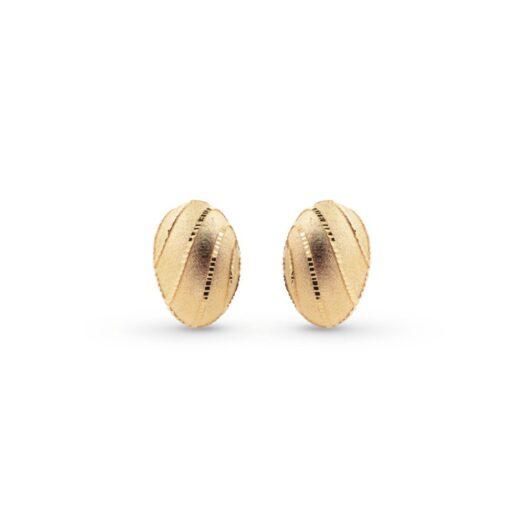 Orecchini Artlinea in Oro Giallo   Goccia Ricamata Piccola - Glam - OP0009