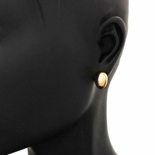 Orecchini Artlinea in Oro Giallo | Ovale Piccolo - Glam - OP0013