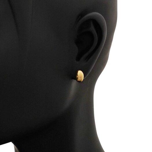 Orecchini Artlinea in Oro Giallo Ovale - Mini Parure - OP0035-LG