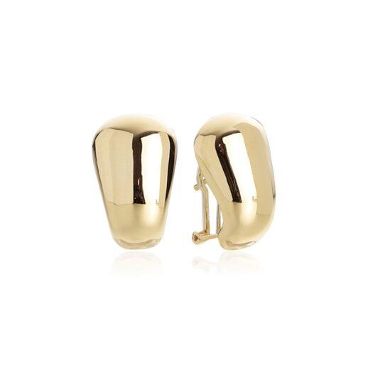 Orecchini Artlinea in Oro 18 Kt Goccia Curva - Glam - OP0064